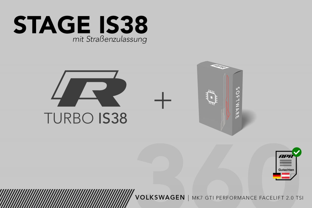 BUNDLE Stage IS38 MK7 GTI Perf. Facelift (245 PS)